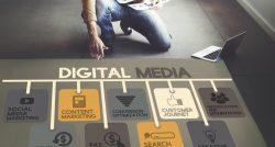 Rise in digital marketing image