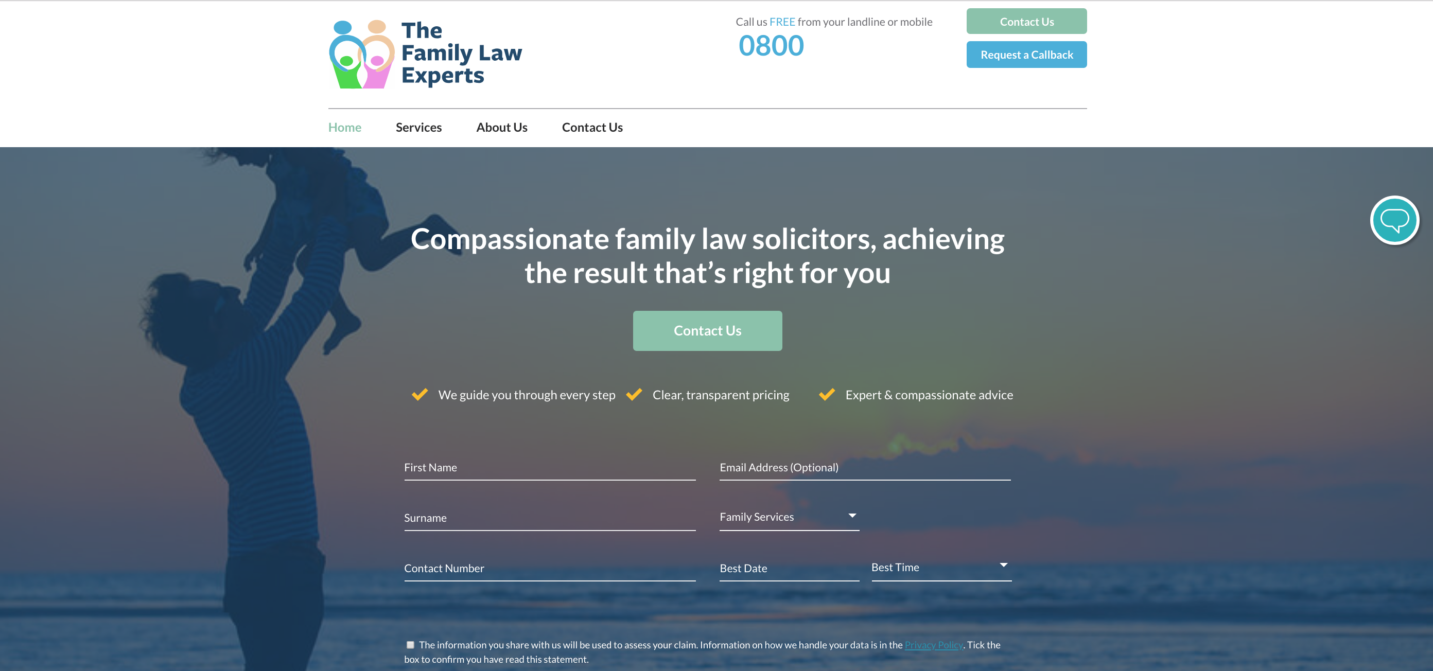 Family Law Lead Generation Image