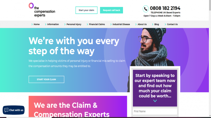 new website The Compensation Experts